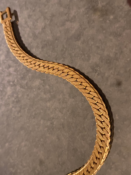 MONET 1970-1980 22k Gold Plated Bracelet