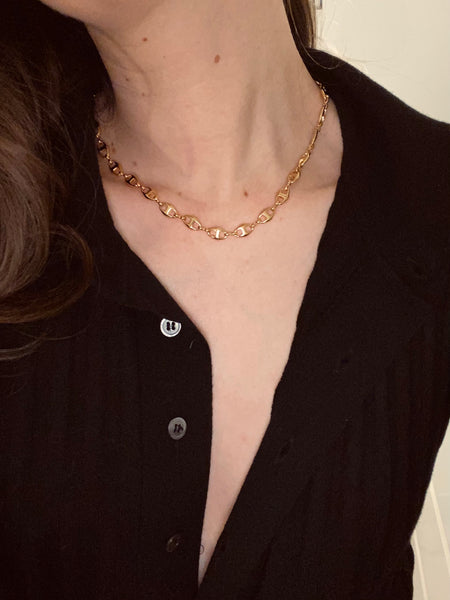 1970-1980 Mariner Link Chain Necklace