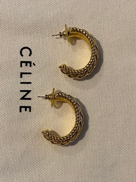 OROTON Gold Plated Pierced Earrings