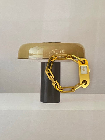 GUCCI Gold Plated Bracelet Watch