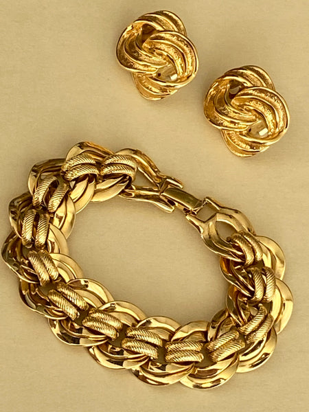 OROTON Statement Gold Plated Chain Bracelet