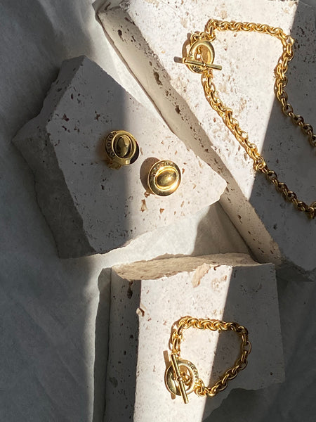OROTON Gold Plated Chain Necklace