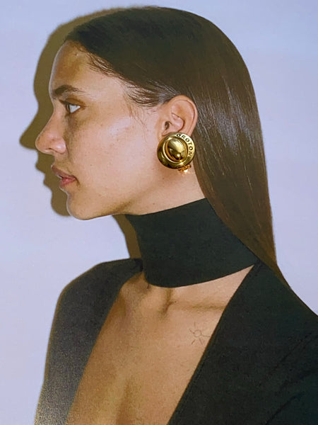 OROTON Gold Plated Clip On Earrings