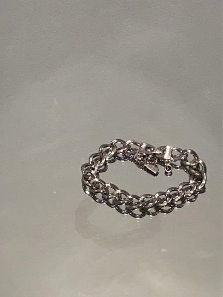 MONET Silver Plated Chain Bracelet