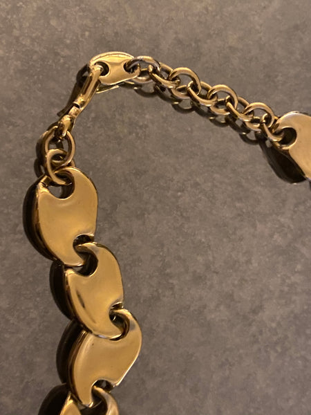MONET 22k 1970 Gold Plated Necklace