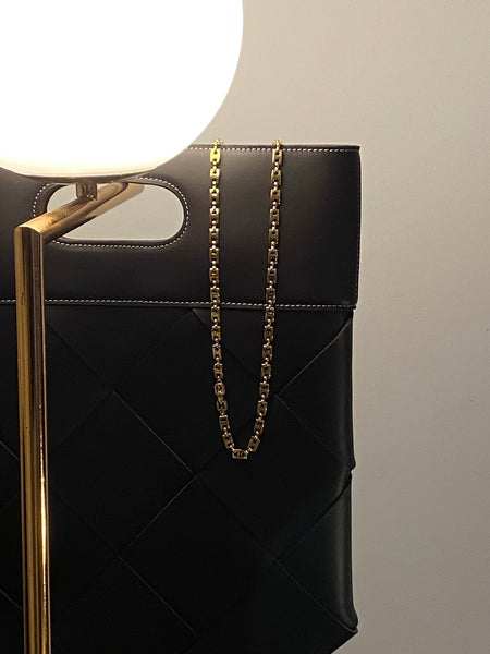 1980 GIVENCHY Mariner Link Gold Plated Chain Necklace