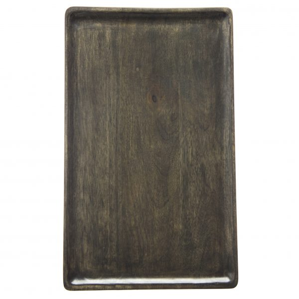 Rectangle Serving Board - 430x250x15mm, Mangowood, Dark