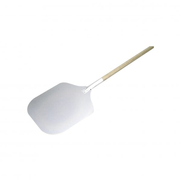 Pizza Peel With Wood Handle - 910mm, Aluminum