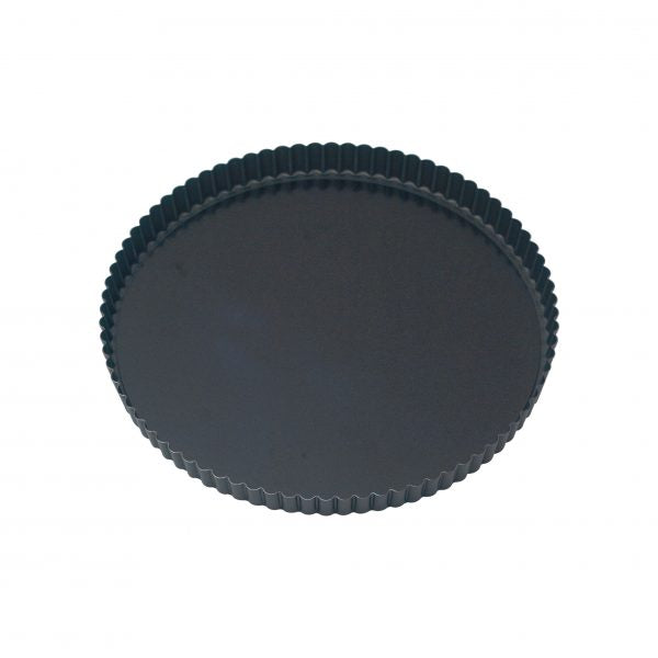 Round Loose Base Fluted Quiche Pan (Non-Stick) - 200x25mm