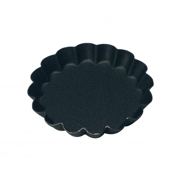 Round Fluted Tartlet Mould (Non-Stick) - 60x9mm