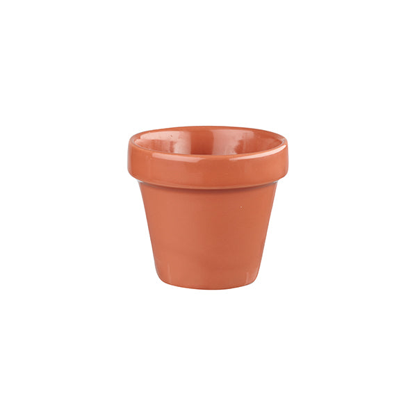 Plant Pot - 340ml, Paprika, Bit On The Side
