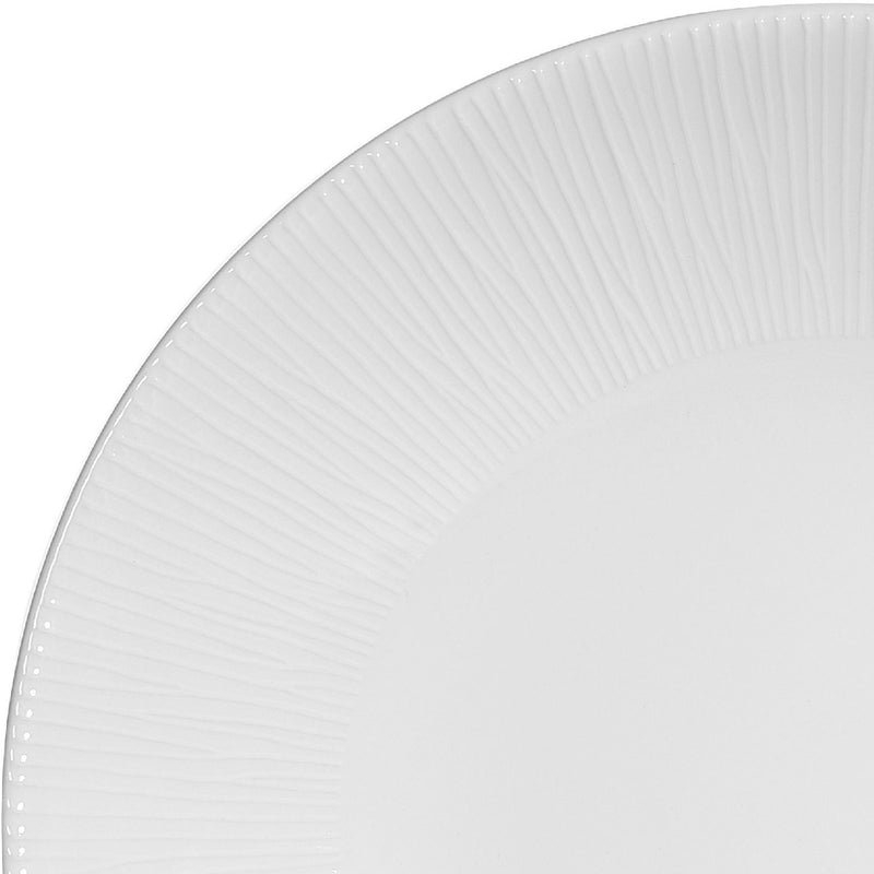 Deep Coupe Plate - 225mm, Bamboo