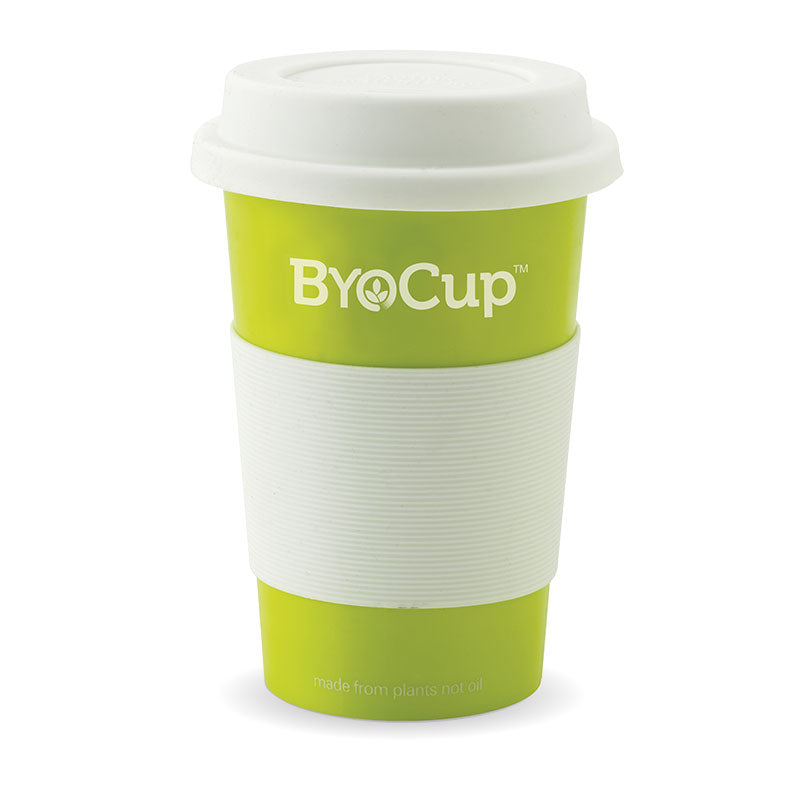 Byocup - Green, 16oz (Box of 24)