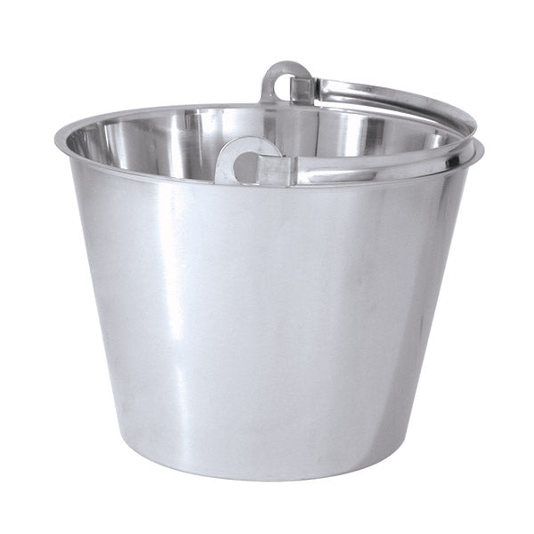 Bucket-Water Pail - 18-10, Hd, 8.0Lt