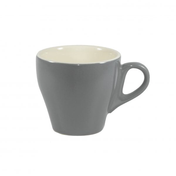 Long Black Cup - 180ml, French Grey-White