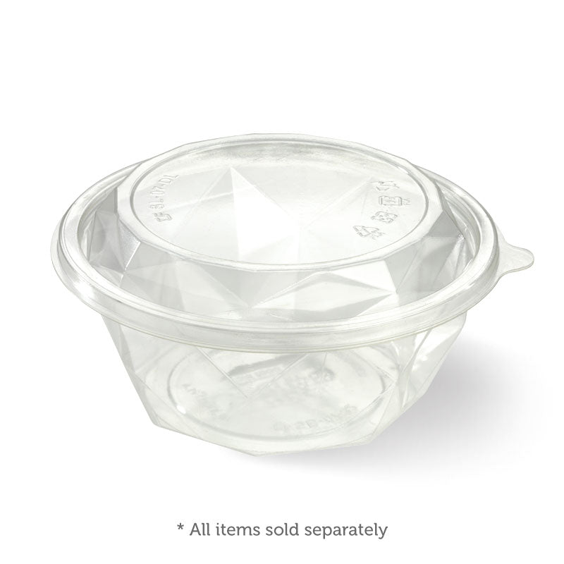 Salad Bowl Lid - 24 And 32oz, Clear (Box of 450)