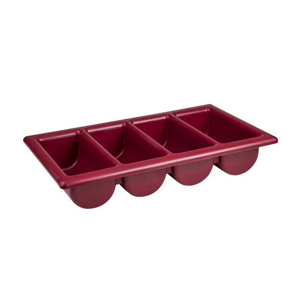 Cutlery Box - 4 Comp, 530 x 325 x 100mm