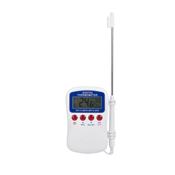 Digital Thermometer - Hand Held W-Alarm