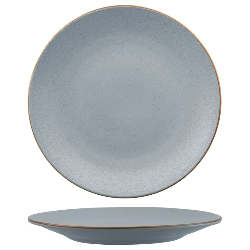 Round Coupe Plate - 310mm, Zuma Bluestone