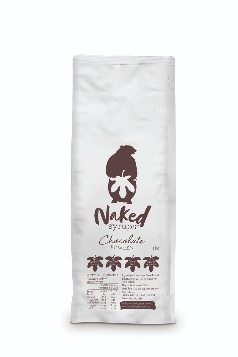 Naked Powder - Chocolate Powder, 1kg