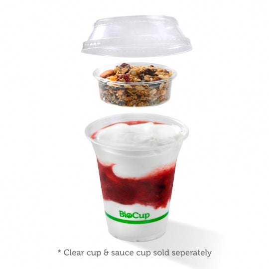 Lid to fit 300-700ml Clear Cups (Box of 1000)