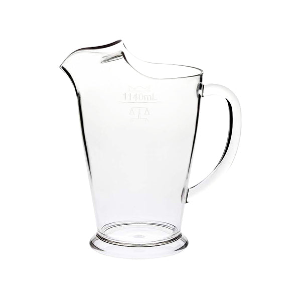 Polycarbonate Jug with Ice Lip - 1140ml