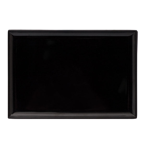 Rect. Platter - Black, 250 x 170mm