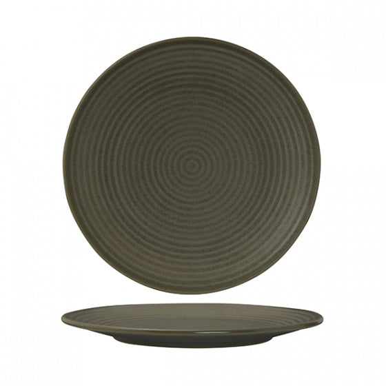 Round Coupe Plate - Ribbed, 265mm, Zuma Cargo