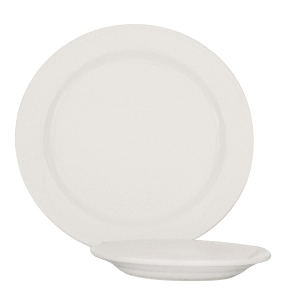 Round Plate - Narrow Rim, 250mm