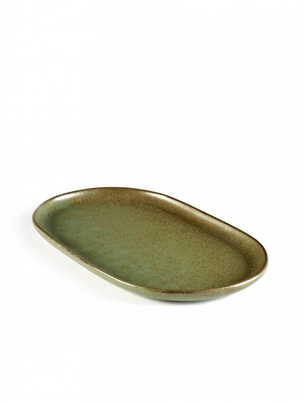 Tapas Plate Rectangular Surface - 150x250x15mm, Camogreen