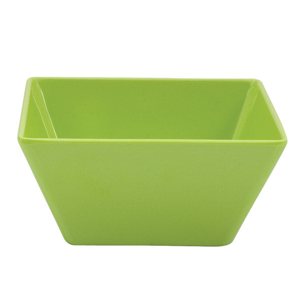 Square Bowl - Lime, 180 x 180 x 85mm