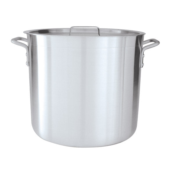 Stockpot - Alum., W-Cover, 230 x 185mm-8.0Lt