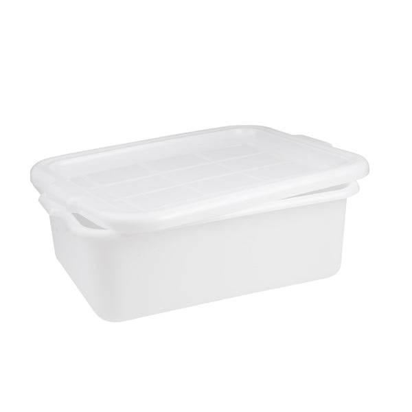 Tote Box - Plastic, White, 560 x 400 x 180mm