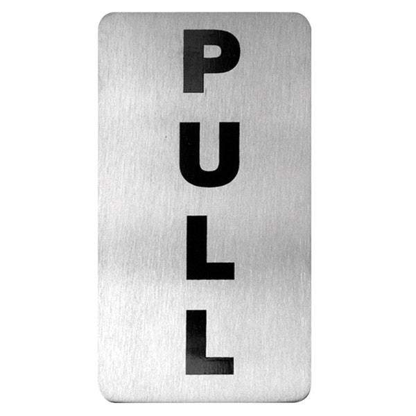 Pull Wall Sign - 110 x 60mm
