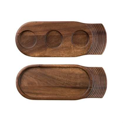 Wooden Tray - Single Handle, 355 x 140mm