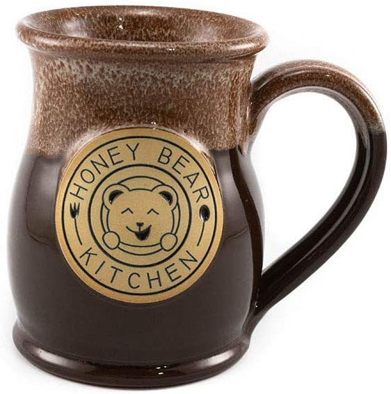Honey Bear Kitchen Handmade Stoneware 14 oz Mug