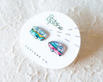 Load image into Gallery viewer, Vintage Camper Stud Earrings