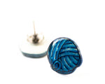 Load image into Gallery viewer, Yarn ball Stud Earrings