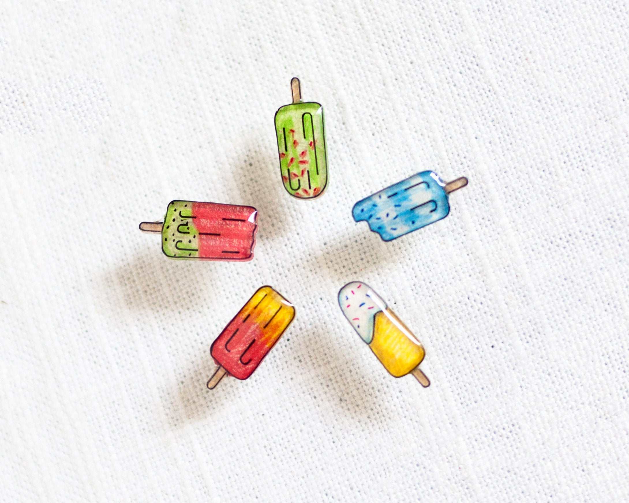 Popsicle Earrings Mix n' Match Stud Earring Set