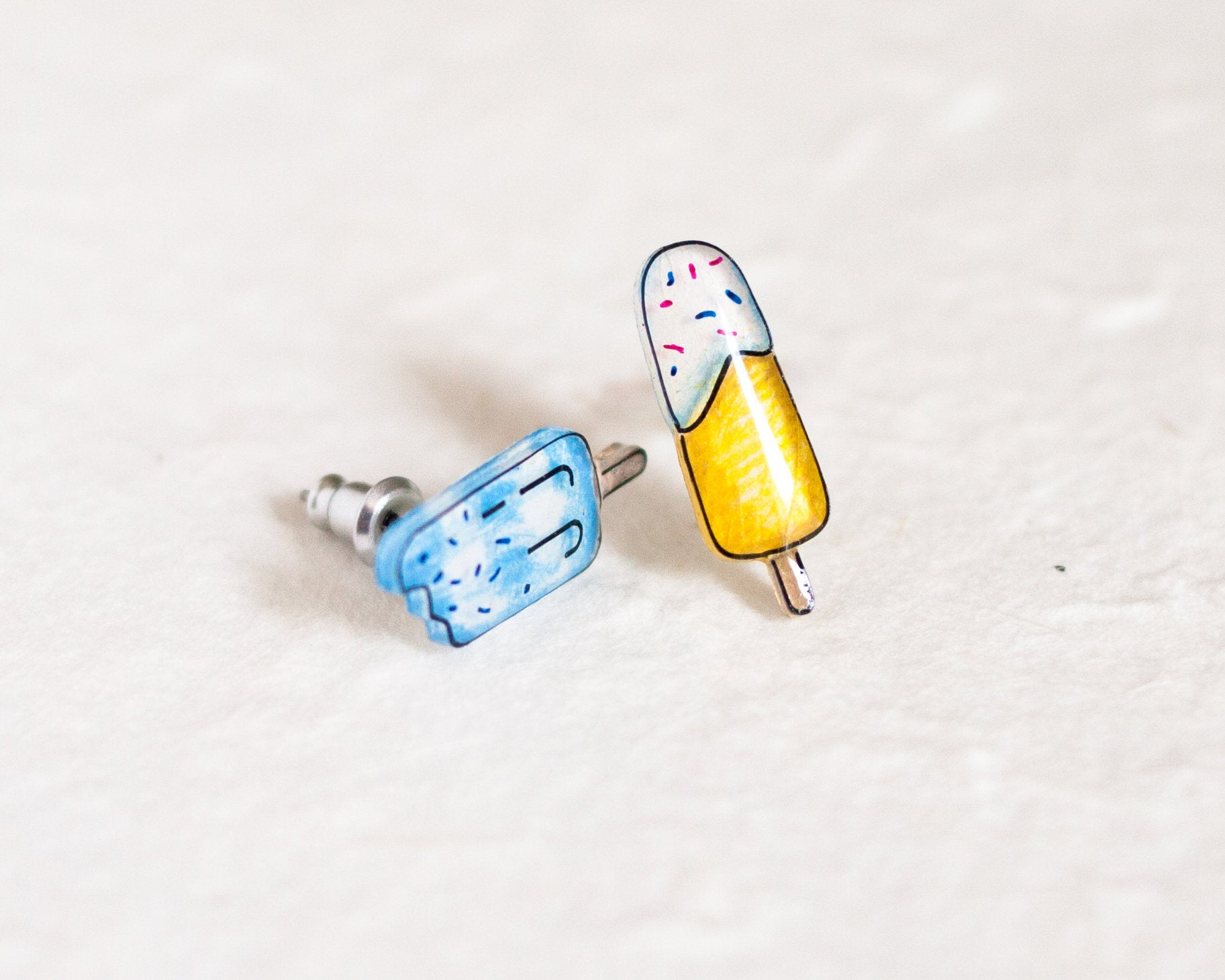 Popsicle Stud Earrings