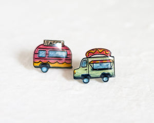 Food Truck Stud Earrings