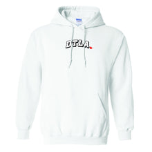 "Load image into Gallery viewer, ""DTLA x CITY OF ANGELS"" PULL OVER HOODIE (WHITE)"