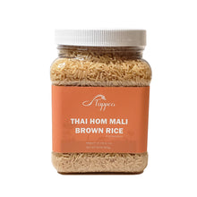 Load image into Gallery viewer, Thai Hom Mali Brown Rice 28 oz. (800 grams) - Tuppea Brand