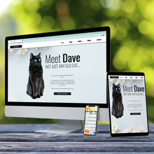 Load image into Gallery viewer, Bespoke Cat Website
