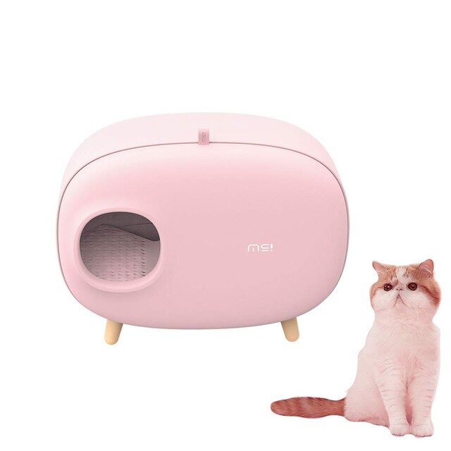 Luxury Retro Cat Litter Box