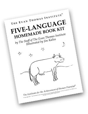 Five-Language Homemade Book Kit ★