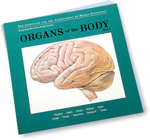 ORGANS OF THE BODY, Set I, Bit of Intelligence Cards