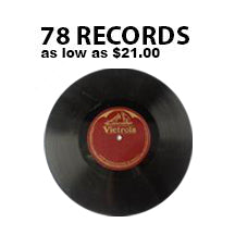 78 rpm Phonograph & Transcription Digitizing