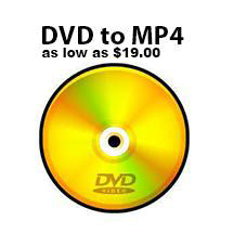 DVD to Mp4 File Transfer
