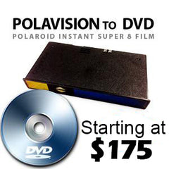 Polavision (Polaroid) Home Movie Film Transfer